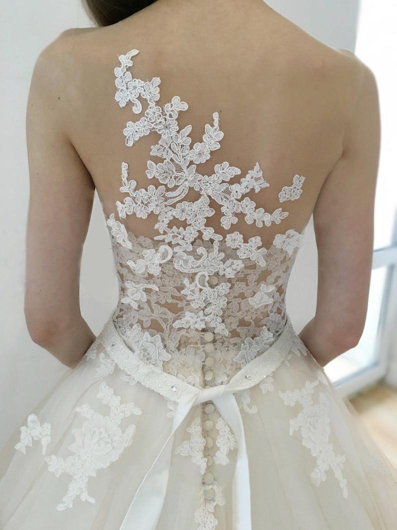 Wedding dress Jeneva Wedding dress lace back wedding dress image 0