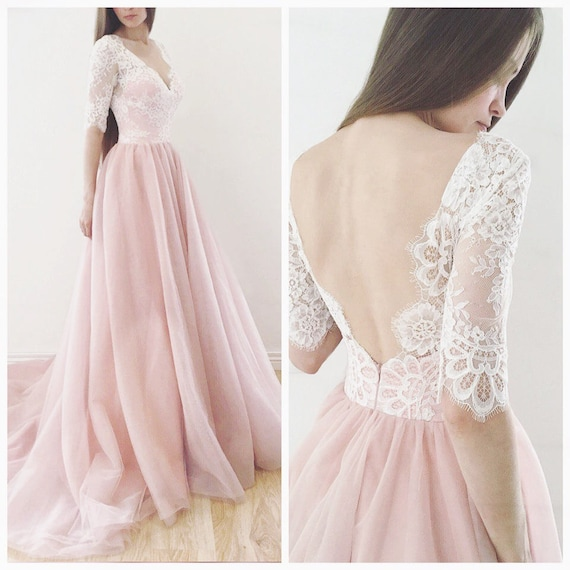 What Colours Not To Wear To A Wedding: Wedding Dress Espana Blush Wedding Dress Wedding Dress