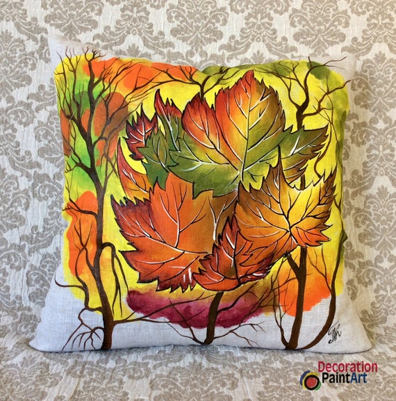 Fall Leaves Decorations For Sale  from i.etsystatic.com
