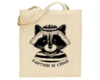 Partner in crime - Canvas tote bag
