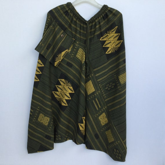 Hmong pants Hippie yoga pants Hot price !!!! Harem pants P25 Green Alladin pants Trousers Tribal pants from Thailand