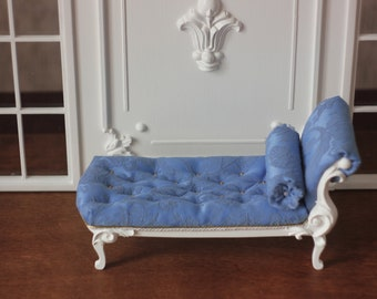 Doll daybed for Blythe Momoko Barbie FR and other 1 / 6 doll