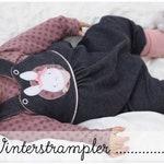 Winterstrampler Gr. 50-86 / Schnittmuster / sewing pattern / Baby-Strampler / Strampler / Konfetti Patterns / konfettipatterns / Nähen ebook