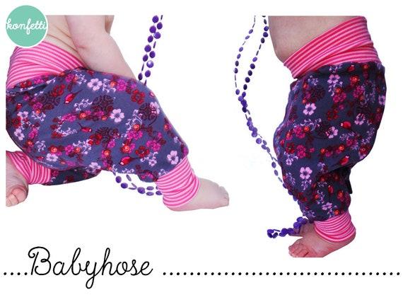 baby pumphose schnittmuster