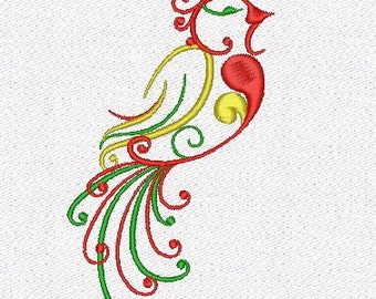 Bird machine embroidery designs