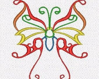 Batterrfly  machine embroidery designs