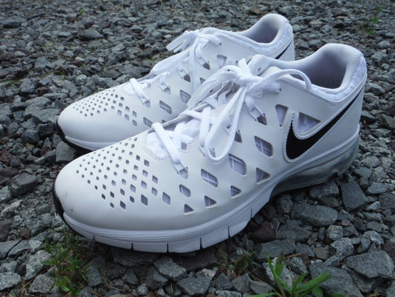 67e177d33f Men's Size 10 Nike Air Trainer 180 White/ Black Shoes | Etsy