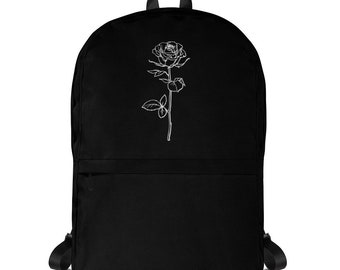 4dd6e08fd55 Dead Dreams Backpack Tumblr Hipster Grunge Aesthetic Psychedelic Rad Pastel  Kawaii Trippy Accessories Streetwear Bag Roses
