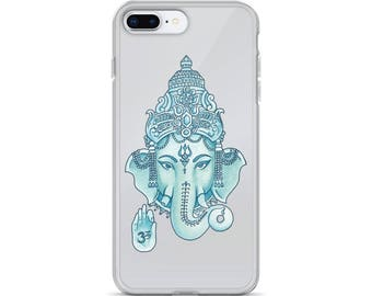 Ganesha Clear iPhone Cases Transparent Tumblr Hipster Grunge Aesthetic Rad Hindu Religion Hinduism