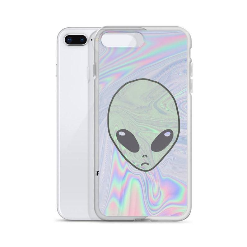 Alien Pastel Iphone Cases Tumblr Hipster Grunge Aesthetic Etsy