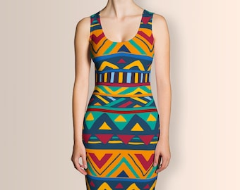 African Style No9, Dress, Ankara Dress, African Dress, Summer Dress, Women Dress, Short Dress, Clothing, Party Dress