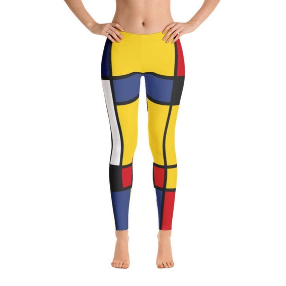 Colorful /& Geometric Yoga Leggings