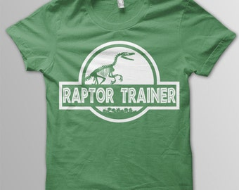 bed6c218 Jurassic World shirt toddler Raptor Trainer shirt kids Jurassic World t- shirt