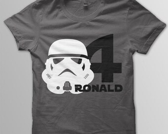 18cfc8df0 Star Wars Birthday Shirt Disney shirt kids Stormtrooper shirt kids Disney t- shirt
