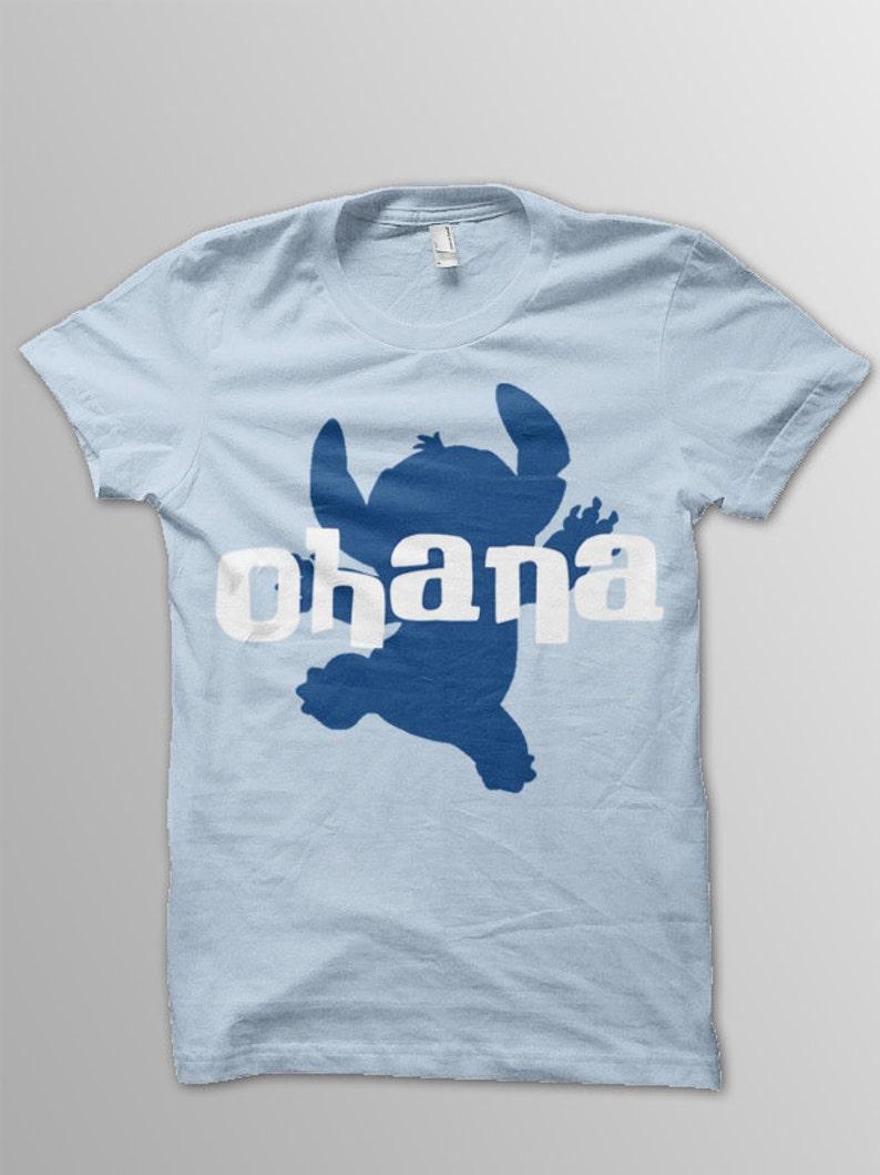 8c2b6c5e Disney shirt adult Lilo and Stitch Ohana shirt adult Disney | Etsy