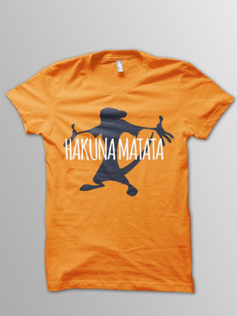 a3995c84 Lion King Hakuna Matata Shirt Disney shirt kids Lion King | Etsy