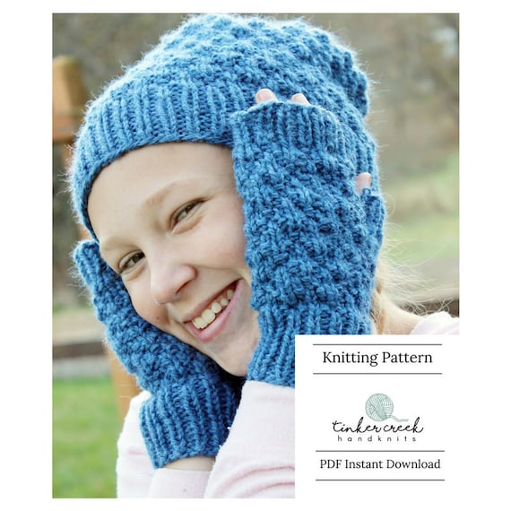 Children Slouchy Hat Pattern Easy Beanie Pattern Slouchy Hat  88d8c405a6f