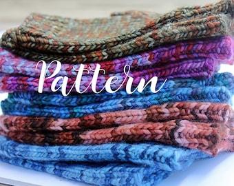 Fingerless Gloves Knitting Pattern, Handwarmer Knitting Pattern, Hand Warmers, Texting Gloves, Wrist Warmers Knitting Pattern