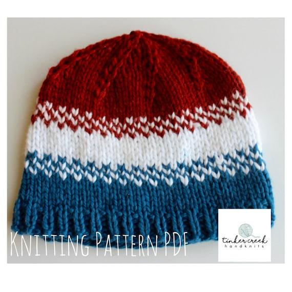 Baby Hat Pattern Baby Hat Knit Baby Beanie Knitting Baby Etsy