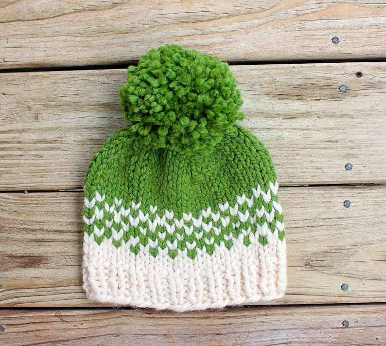 d6798ffd5 Pom Pom Hat Women, Pom Beanie, Knit Winter Hat, Chunky Wool Hat, Warm and  Cozy, Hats for Women, Gift for Women and Teen Girls