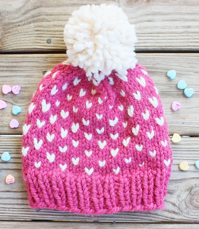9853e53297e Baby Girl Pom Pom Hat Baby Pom Hat Pink Baby Hat Baby