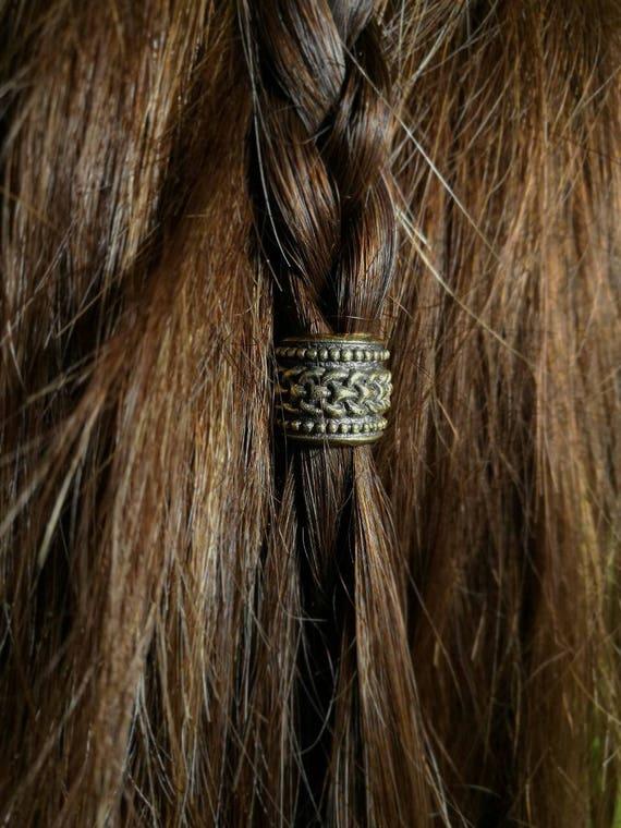 pendant Celtique bartperle et boucles perle en argent