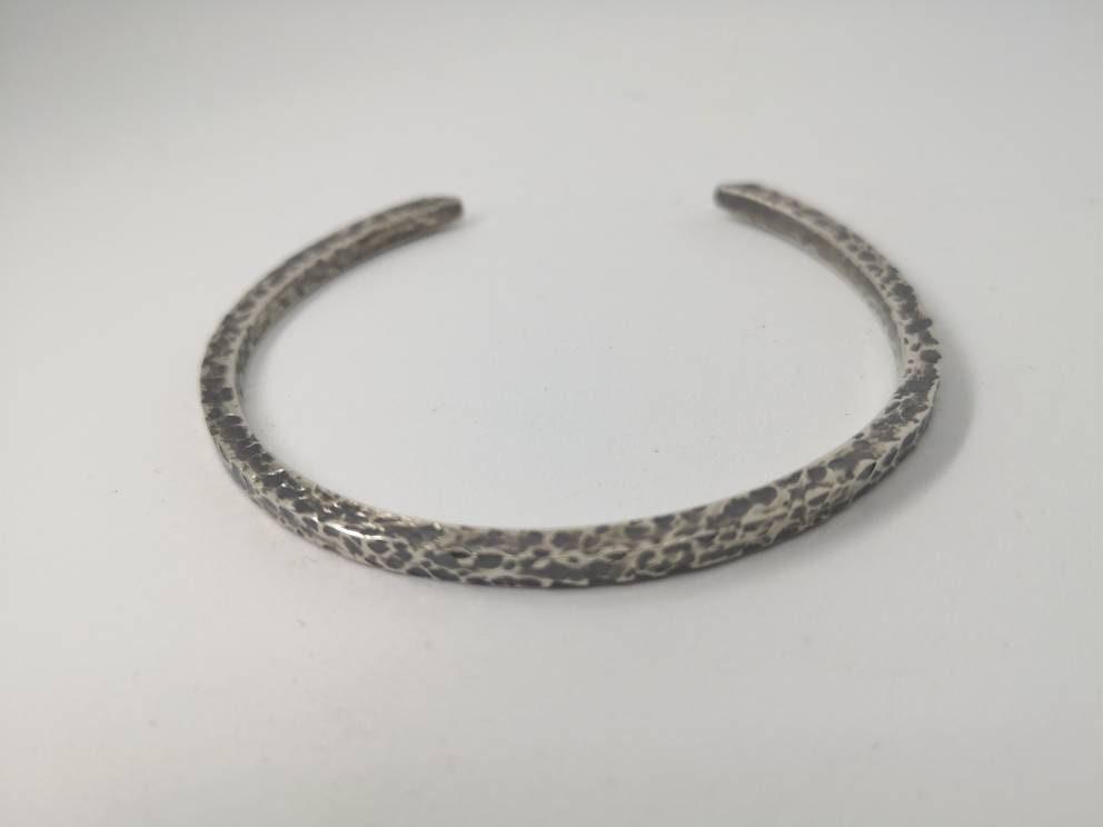 4bfa896d5c155 Hallmarked sterling silver cuff