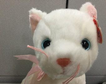 Ty Beanie Buddies  Flip the White Cat 3592047dbcc3