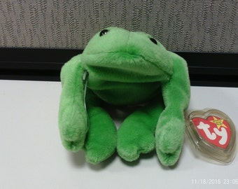 0d27a662f31 Ty Beanie Baby Legs the Frog