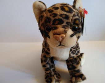 ty beanie babies SNEAKY the Leopard