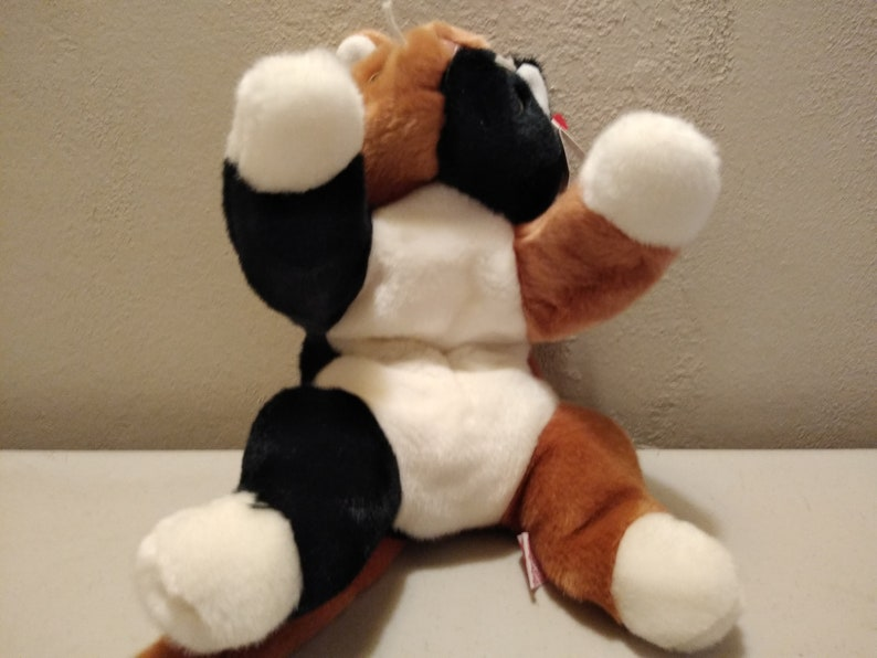Ty Beanie Buddies Chip the Calico Kitty Cat