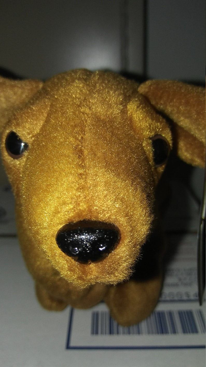 b85ea64e1e0 Ty Beanie Babies Weenie the brown Dachshund doggie