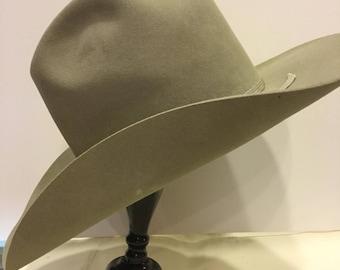 Resistol Vintage Western Hat Cowboy  7-Bar Western Wear Temple 4f63669f9dc
