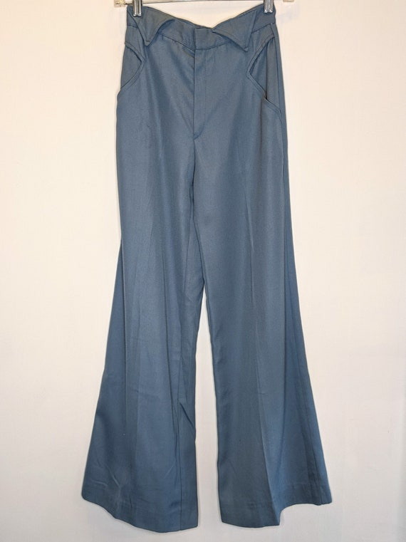 1970s Bell Bottom Pants Size 7 - image 1