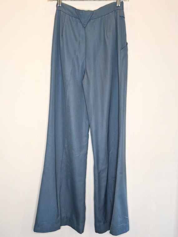 1970s Bell Bottom Pants Size 7 - image 2