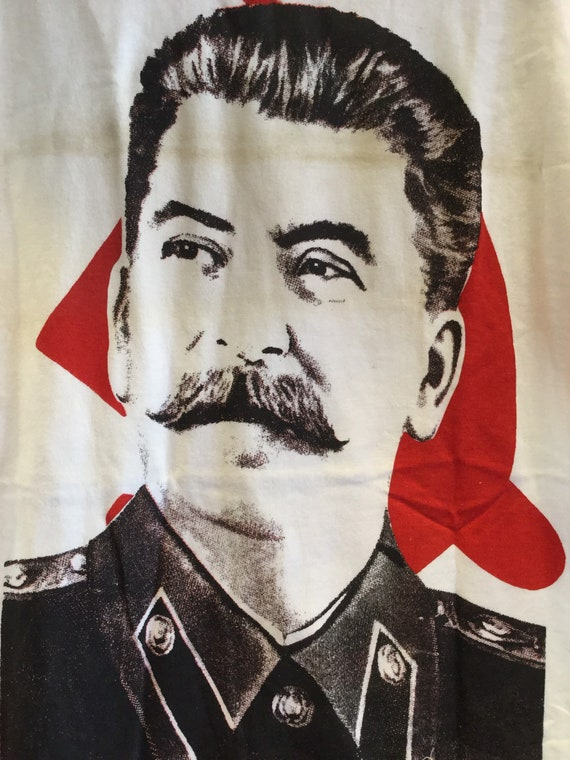 Joseph Stalin Tee Shirt 1990s UK Today T-Shirts Lo