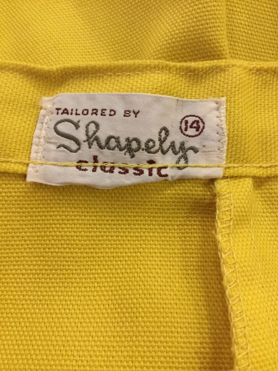 Bermuda Shorts 1960s Tailored By Shapely Classic … - image 6