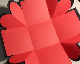 Explosion Box For Boyfriend Valentine39s Dayanniversary Theme