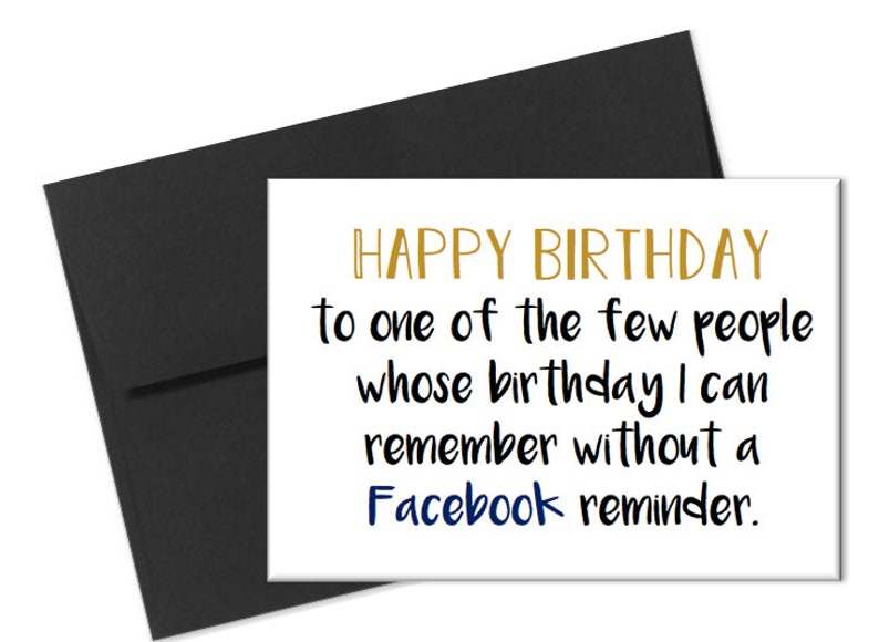 Naughty Birthday Card Dirty Facebook