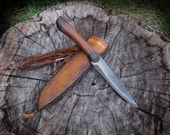 Handmade mountain man knife, woodsman, western, frontier, hunting, fishing, reenactment, individually handcrafted in the USA
