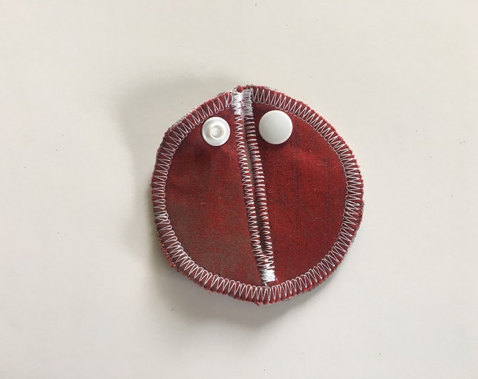 Belly Buddies, Brick Red ( G and Mic-Key Covers and Pads for Feeding Tubes)