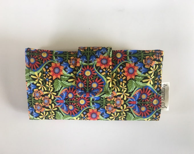 Cash Wallet, Floral Delight