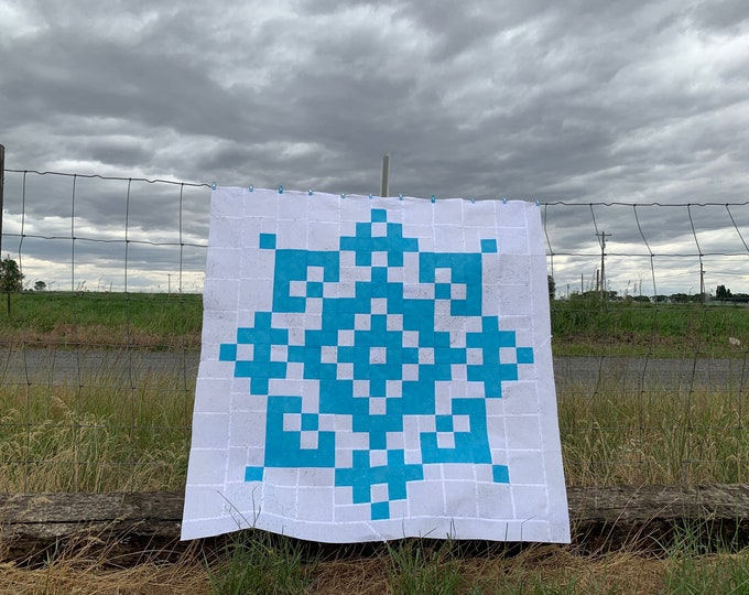 Sew Sweet Snowflake Quilt Pattern.
