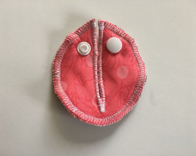 Alison Glass, Bubblegum Pink,  Belly Buddies (G and Mic-Key Covers and pads for Feeding Tubes)