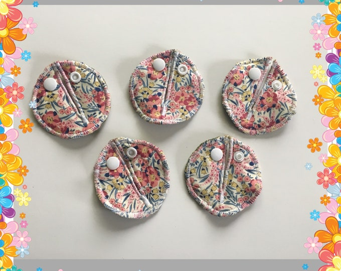 Belly Buddies (G and Mic-Key covers or pads for feeding tubes) Liberty of London Fabric.