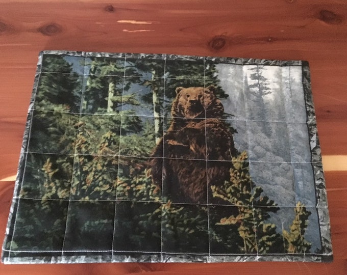 Hungry Bear, Snack Mat.