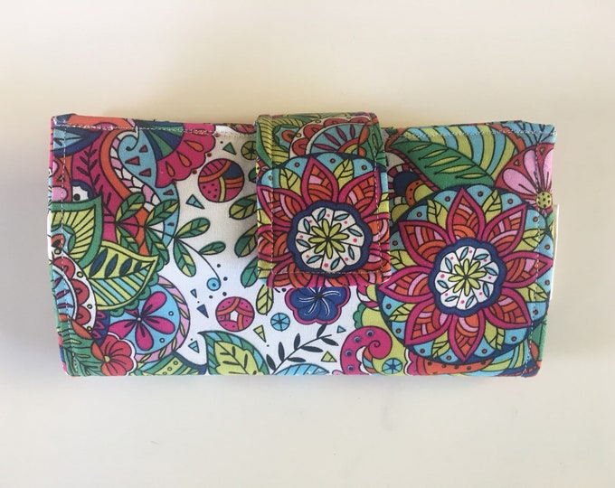 Cash Wallet, Bright Mandala