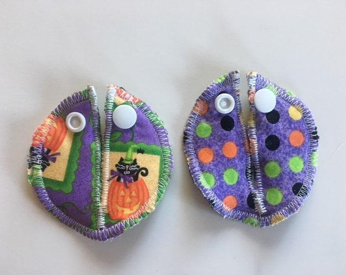 Belly Buddies, Pumpkin Cat (G and Mic-Key Covers and Pads for feeding tubes)