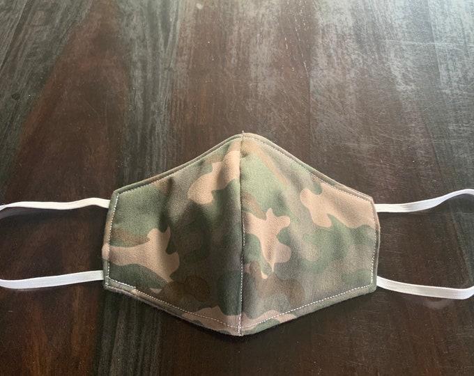 Face Mask, Dust Mask, Camouflage