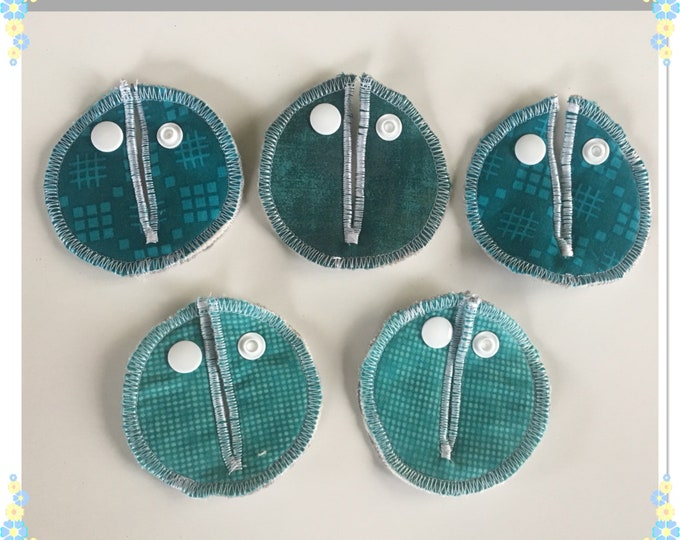 Belly Buddies, ( G and Mic-Key covers or pads) Feeding Tubes, ( Teal,Riley Blake fabrics)